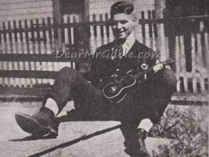 15-year-old Clark Gable