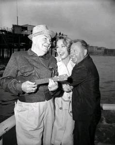 Cliff Edwards and Mickey Rooney