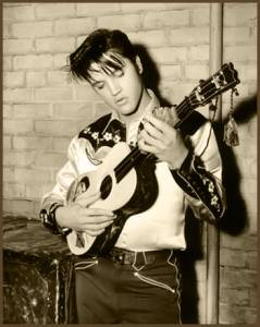 Elvis on the Chordmaster