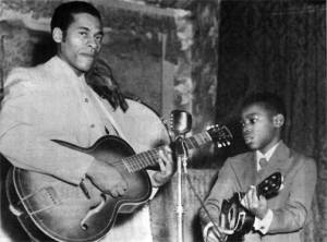 George Benson (right)