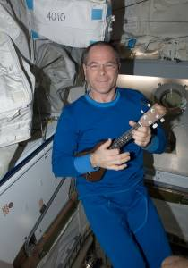 Kevin Ford aboard the International Space Station