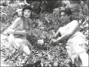 Renee Adoree And Ramon Novarro