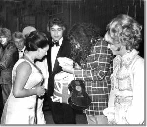 Tiny Tim meets Princess Margaret