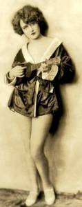 Ukulele Ziegfeld Gal