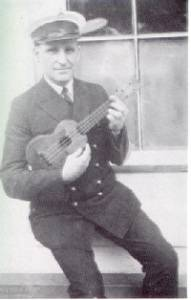 Dick Konter - took the first ukulele to the North Pole in 1926