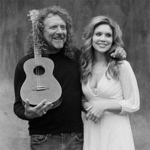 Robert Plant with Alison Krauss